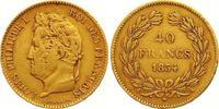 40 Francs Gold 1834  A Frankreich Louis Philippe I. 1830-1848. Winziger... 525,00 EUR