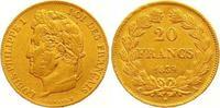 20 Francs Gold 1839  A Frankreich Louis Philippe I. 1830-1848. Fast vor... 285,00 EUR