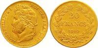 20 Francs Gold 1840  A Frankreich Louis Philippe I. 1830-1848. Sehr sch... 265,00 EUR