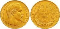 20 Francs Gold 1856  A Frankreich Napoleon III. 1852-1870. Vorzüglich +  345,00 EUR