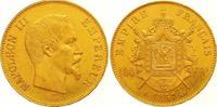 100 Francs Gold 1857  A Frankreich Napoleon III. 1852-1870. Winz. Kratz... 1475,00 EUR