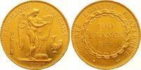 100 Francs Gold 1879  A Frankreich Dritte Republik 1870-1940. Fast Stem... 2150,00 EUR