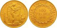 100 Francs Gold 1904  A Frankreich Dritte Republik 1870-1940. Winz. Ran... 1250,00 EUR
