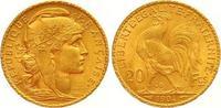 20 Francs Gold 1904  A Frankreich Dritte Republik 1870-1940. Vorzüglich  265,00 EUR