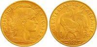 10 Francs Gold 1906  A Frankreich Dritte Republik 1870-1940. Sehr schön... 155,00 EUR