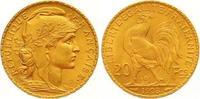 20 Francs Gold 1908  A Frankreich Dritte Republik 1870-1940. Vorzüglich... 265,00 EUR