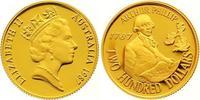 200 Dollars Gold 1987 Australien Elisabeth II. Seit 1952. Polierte Platte  385,00 EUR