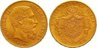 20 Francs Gold 1876 Belgien, Königreich Leopold II. 1865-1909. Vorzügli... 275,00 EUR
