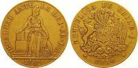 8 Escudos Gold 1850 Chile Republik. Seit 1818. Sehr schön  1100,00 EUR