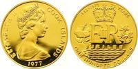 100 Dollars Gold 1977 Cook Islands Elizabeth II. seit 1952. Polierte Pl... 375,00 EUR