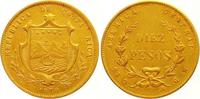 10 Pesos Gold 1870  GW Costa Rica Republik seit 1848. Sehr schön  1325,00 EUR