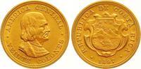 20 Colones Gold 1897 Costa Rica Republik seit 1848. Vorzüglich  1100,00 EUR