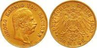 20 Mark Gold 1903  E Sachsen Georg 1902-1904. Winziger Randfehler, vorz... 675,00 EUR