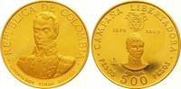 500 Pesos Gold 1969  B Kolumbien Republik seit 1886. Kratzer, Polierte ... 850,00 EUR