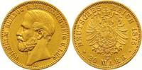 20 Mark Gold 1875  A Braunschweig Wilhelm 1830-1884. Winziger Randfehle... 1875,00 EUR