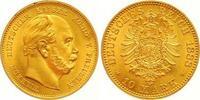 10 Mark Gold 1888  A Preußen Wilhelm I. 1861-1888. Prachtexemplar. Stem... 525,00 EUR