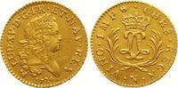 Louis d'or Mirliton Gold 1724  N Frankreich Ludwig XV. 1715-1774. Justi... 1950,00 EUR