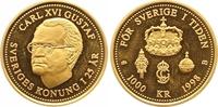 1000 Kronen Gold 1998 Schweden Carl XVI. Gustav seit 1973. Polierte Pla... 225,00 EUR  +  7,00 EUR shipping