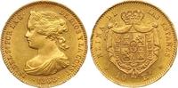 10 Escudos Gold 1868 Spanien Isabel II. 1833-1868. Kl. Randverprägung, ... 390,00 EUR  +  7,00 EUR shipping