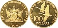 100 Dollars Gold 1976 Trinidad und Tobago  Polierte Platte  240,00 EUR  +  7,00 EUR shipping