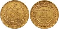 20 Francs Gold 1899 Tunesien Französisches Protektorat. Sehr schön - vo... 245,00 EUR  +  7,00 EUR shipping