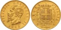 20 Lire Gold 1862 Italien-Königreich Vittorio Emanuele II. 1859-1861-18... 260,00 EUR  zzgl. 7,00 EUR Versand