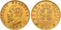 20 Lire Gold 1873 Italien-Königreich Vittorio Emanuele II. 1859-1861-18... 260,00 EUR  zzgl. 7,00 EUR Versand