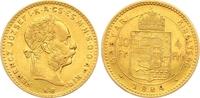 4 Gulden = 10 Francs 1884 Haus Habsburg Franz Joseph I. 1848-1916. Klei... 325,00 EUR  +  7,00 EUR shipping