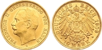 10 Mark Gold 1909  G Baden Friedrich II. 1907-1918. Winziger Randfehler... 1350,00 EUR free shipping