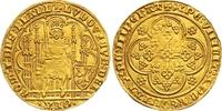 Chaise d'or à l'aigle Gold  1346-1384 Belgien-Flandern Ludwig II. de Ma... 1850,00 EUR free shipping
