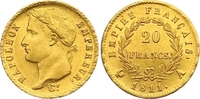 20 Francs Gold 1811  A Frankreich Napoleon I. 1804-1814, 1815. Am Rand ... 650,00 EUR  +  7,00 EUR shipping