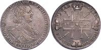 Sonnenrubel 1725 Russland Peter der Große 1689-1725. Sehr schön +  3850,00 EUR free shipping