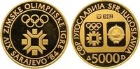 5000 Dinars Gold 1984 Jugoslawien Volksrepublik. Originaletui und Zerti... 320,00 EUR  +  7,00 EUR shipping