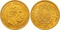 20 Mark Gold 1873  C Preußen Wilhelm I. 1861-1888. Vorzüglich - Stempel... 525,00 EUR