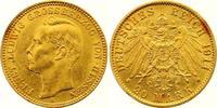 20 Mark Gold 1911  A Hessen Ernst Ludwig 1892-1918. Winzige Kratzer, vo... 550,00 EUR