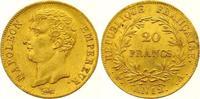 20 Francs Gold AN 12 A Frankreich Napoleon I. 1804-1814, 1815. Winzige ... 450,00 EUR