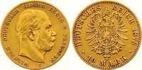 10 Mark Gold 1875  C Preußen Wilhelm I. 1861-1888. Sehr schön  200,00 EUR