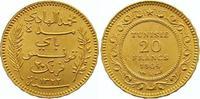 20 Francs Gold 1904 (AH 1322) Tunesien Französisches Protektorat. Vorzü... 285,00 EUR