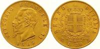 20 Lire Gold 1865 Italien-Königreich Vittorio Emanuele II. 1859-1861-18... 235,00 EUR