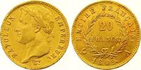 20 Francs Gold 1809  A Frankreich Napoleon I. 1804-1814, 1815. Winzige ... 425,00 EUR