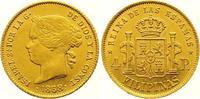 4 Pesos Gold 1868 Philippinen Isabel II. 1833-1868. Vorzüglich  /  vorz... 425,00 EUR