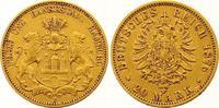 20 Mark Gold 1876  J Hamburg  Sehr schön  315,00 EUR