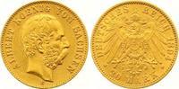 20 Mark Gold 1894  E Sachsen Albert 1873-1902. Winziger Randfehler, seh... 355,00 EUR
