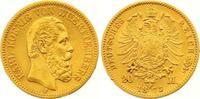 20 Mark Gold 1873  F Württemberg Karl 1864-1891. Winziger Randfehler, s... 355,00 EUR  +  7,00 EUR shipping