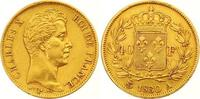 40 Francs Gold 1830  A Frankreich Charles X. 1824-1830. Sehr schön +  550,00 EUR  +  7,00 EUR shipping