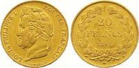 20 Francs Gold 1847  A Frankreich Louis Philippe I. 1830-1848. Vorzügli... 310,00 EUR