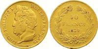 40 Francs Gold 1834  A Frankreich Louis Philippe I. 1830-1848. Kl. Rand... 500,00 EUR