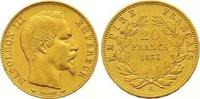 20 Francs Gold 1853  A Frankreich Napoleon III. 1852-1870. Fast vorzügl... 245,00 EUR  +  7,00 EUR shipping