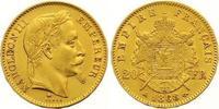 20 Francs Gold 1868  A Frankreich Napoleon III. 1852-1870. Fast vorzügl... 255,00 EUR