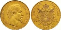 50 Francs Gold 1855  A Frankreich Napoleon III. 1852-1870. Sehr schön -... 625,00 EUR